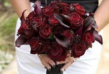 Bridal Bouquet -  Deep Tones