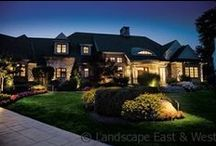 Outdoor Landscape Lighting / Outdoor lighting allows you to highlight your landscaping, deter trespassers and enjoy your outdoor space more hours of the day! Here we show just some of our Portland landscape lighting projects.