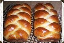 Bread, Bun, Roll > Artisan xo / Artisan hand made breads, rolls, buns & challah (a plaited loaf of white leavened bread, traditionally baked to celebrate the Jewish sabbath) and beautiful Amish loaves of plain and plaited bread. Let your dough hook do the hard work for tired hands (that's me), I get some great results. Keva xo