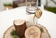 Wood Slice Ideas / What an easy economical idea!