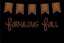 Fabulous Fall / Fall Activity Ideas