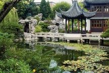 Portland's Lan Su Chinese Garden / This is one of Portland, Oregon's greatest treasures! It's the perfect combination of nature, architecture and design that harkens to another era.