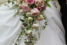 Cascading Bouquets / Extravagant & Unique!