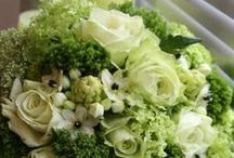 Bouquets In Green