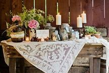 Wedding  - Rustic / Looking for something down-to-earth?  Find inspiration here.