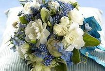 Bouquets In Blue