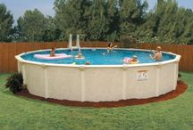 Above Ground Swimming Pools / Vacation in your backyard with a pool.