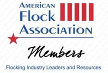 AFA Members / Members of the American Flock Association are involved with the flocking industry, whether they manufacture, coat, print or supply flocking tools and materials.