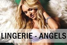 Lingerie - Angels / Sexy angel lingerie ideas! #sexy #lingerie #underwear #nightwear #dearsweetness #angels