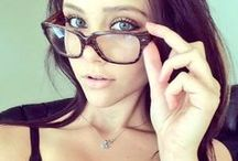 Sexy in Glasses / Glasses ARE sexy, browse this board for tips! #sexy #glasses #dearsweetness