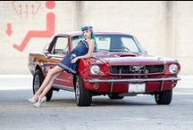 On the Car / Sexy pinups sprawled over cars! #sexy #pinup #rockabilly #dearsweetness