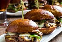 Burgers, Sliders, Sloppy Joes, Patties, Hotdogs > Subs xo / Home made burgers, fabulous American sliders & wonderful Sloppy Joes & all kinds of meat, fish, grain or vegetable patties and the best hotdogs you'll ever eat. Check them out. Keva xo