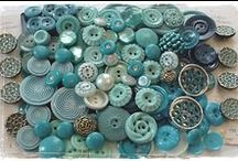Button Up xo / Vintage buttons, showcasing buttons and buttons that appeal to me. Keva xo.