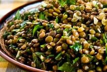 """Beans > Pulses > Lentils xo / The lentil is an edible pulse. I know it's on a separate board to my """"Beans & Pulses"""" board, but I think they deserve a board of their own to showcase the fabulous dishes peculiar to this pulse. It is a bushy annual plant of the legume family, grown for its lens-shaped seeds. It is about 40 cm tall, and the seeds grow in pods, usually with two seeds in each. Keva xo."""