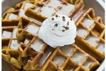 Breakfast > Waffles xo / Fabulous waffle iron batters.
