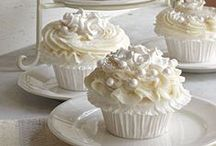 Cakes > Wedding Cupcakes xo / Once upon a time, wedding cupcakes were novel and new. Now? They're not so new, but novel, they still are. Check my board out for inspiration, ideas and themes. Keva xo.