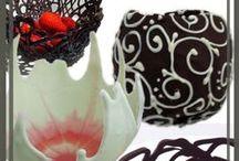 Chocolate Garnishes & Bows xo
