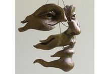 Art for Art's Sake xo / Contemporary history in sculptures made from clay, iron, bronze, wire & driftwood. Keva xo