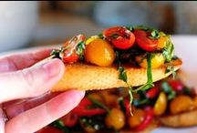Appetiser > Bruschetta, Crostini xo / Italian Ciabatta and French Baguette toasts with a myriad of fabulous toppings to choose from. Keva xo