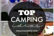 Camping xo / The great outdoors, fabulous ideas and tips for camping ease. Keva xo.