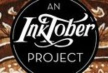 Inktober / Artist challenge, drawing daily for the month of October.  I plan to ink something new every day! #inktober Follow or subscribe on Patreon -  patreon.com/GillianIvy    Join the event on Facebook - https://www.facebook.com/events/510159239160695/