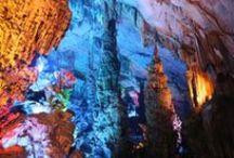 Canyons, Mountains, Caves xo / Massive canyons, huge mountains and deep, deep caves. Keva xo.