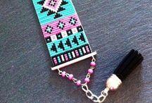 Perles de rocailles et tissage :)