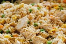Asian > Fried Rice > Rice Salads > Flavoured Rice xo / Every kind of Asian (& American-Asian & English-Asian) fried rice recipe is pinned to this board.  The rice salad and coconut rice dishes are also visually appealing & delicious to eat. Keva xo.
