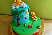 fondant and  My cakes