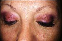 False Eyelashes / False eyelashes process. So easy, but spectacular.