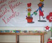 Ambientacions / Treballs de decoració nadalenca fets pels alumnes de l'escola  #Nadal #Salesians Sabadell