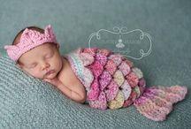 Little Mermaids / Merbabies and merchildren