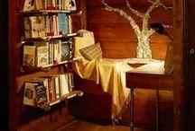 Reading Nooks & Hideaways
