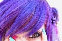 Neri's Book of Purples / lavenders, lilacs, blackberries, violets, eggplants, wisterias, amethysts, fuchsias, amaranthines, royals, grapes, aubergines, irises, plums, hyacinths, blue jasmines... / by Neri S