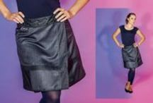 "Moshiki Rock ""Truffle"" / Each Moshiki Truffle wrapskirt is unique. Each material combination occurs only once. ➦ https://pocaido.com"