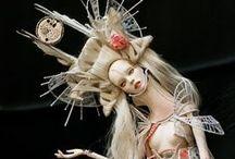 Small Folk, Surreal Folk / Dolls and fae folk