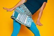 """Moshiki Röcke """"Bagel"""" / Each Moshiki Bagel wrapskirt is unique. Each material combination occurs only once. The wrap skirt is worn on both sides and on the inner side has a very different pattern. Spaß, gemeinsam Schönes gestalten, Fantasie und Ideen sprühen lassen und auf den Stoff bringen - dafür steht Moshiki. Nicht Mainstream sein und dabei mitten im Trend liegen. Eine einzigartige Kombination aus auffälligen Textilien. Tragbar über Hosen, Jeans, Leggins oder einfach so. Immer cool und sexy!"""