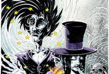 Comics & Graphic Novels / Comics, graphic novels, & other visual stories.  Lots of Sandman, especially.