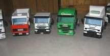 c y j artesanales / maquetas de madera:camiones artesanales