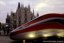 Le tappe del roadshow / Il mock-up del Frecciarossa 1000 in giro per l'Italia.