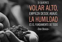 Frases Don Bosco / Frases que mostren l'estil Don Bosco