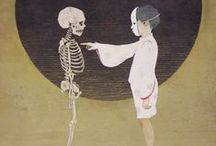 Boneyards (Grim) / Dark, obscure art and the reaper