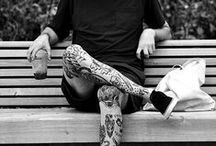 Ink (Tattoos) / Tattoos, old school and modern style