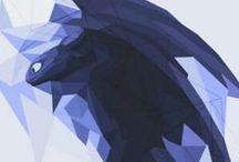 Black Wings (Dragons) / Winged beasts