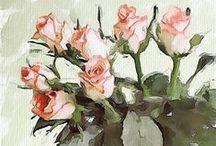 Acquaforte (Watercolor) / Watercolor art