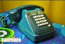 Téléphones Vintage / La technique des produits high tech des années 70 ? Oui cela existe ! Un téléphone Vintage à cadran, tout y est pour vous rappeler vote enfance. Rendez-vous sur le site lesvieilleschoses.com !