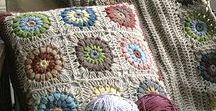Вязание для дома. Декор / Home decor. Handmade
