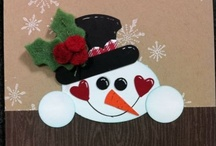 CHRISTMAS ~ Cards & Crafts / by Diane Church