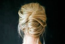 Wedding Hair / Stunning, Modern, and Vintage Hairstyles for the Bride for her wedding day hair / by lovehappybliss