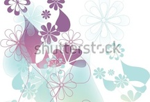 Florals / Stock images - illustrations